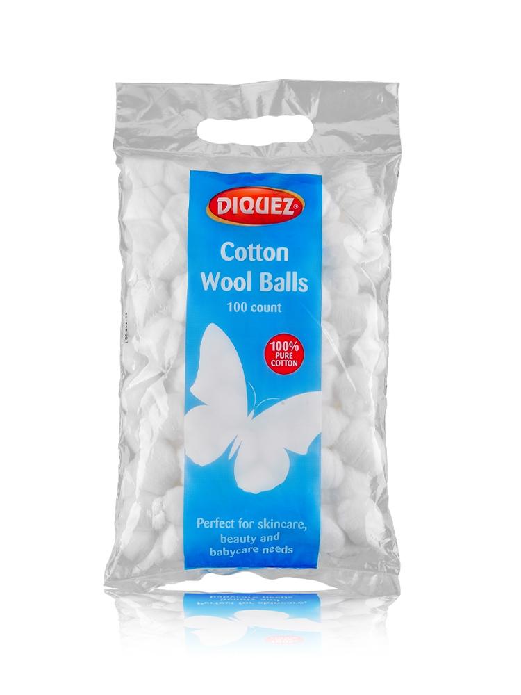 Diquez Cotton Wool Balls 100ct
